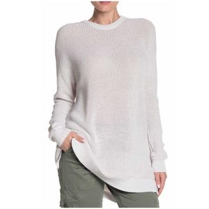 NWT Archie Crew Neck Sweater Cotton On White Small